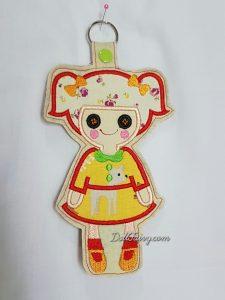 Doll Key fob