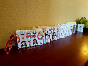 Teacher's Day Gifts - 21 Pouches with Personalised Names