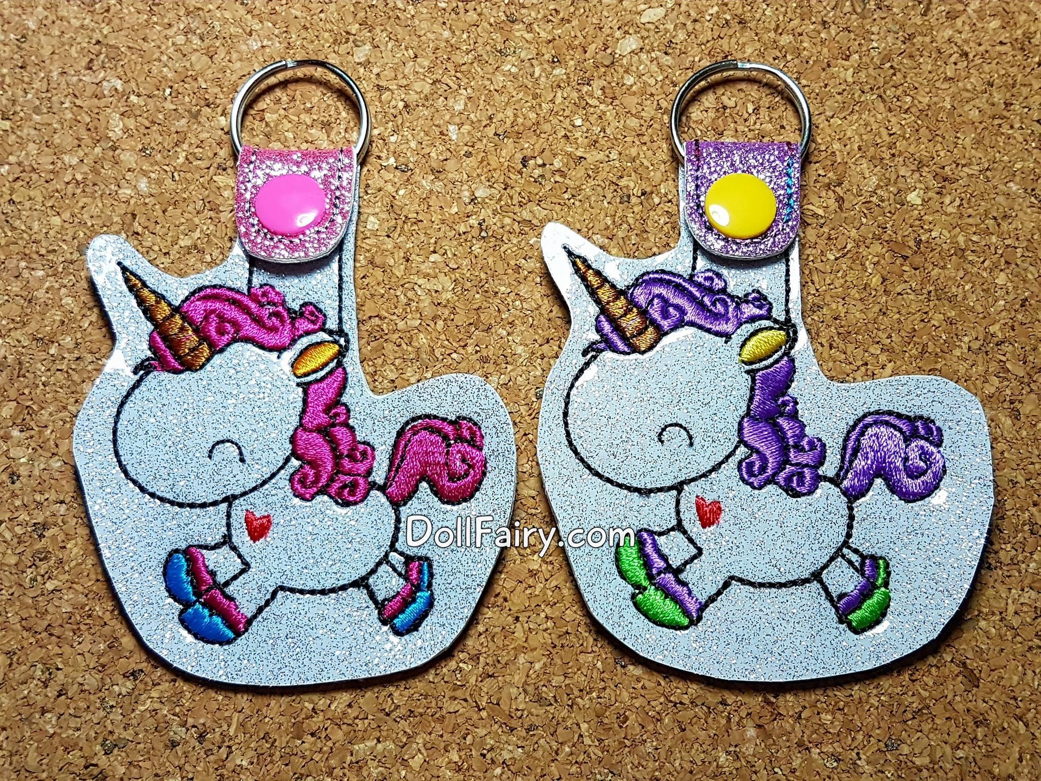 Pink And Purple Mane Bouncy Unicorns