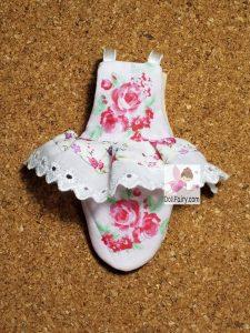 Sarah Green Cheek Conure Princess Diaper Flight Suit