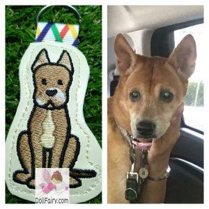 Pet Dog Keychain