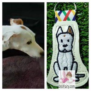 Pet Dog Key Fob