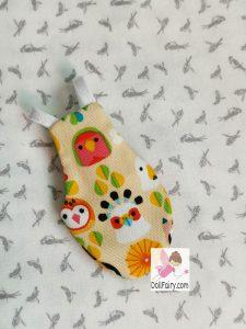 Bird Diaper For A Cute Lovebird