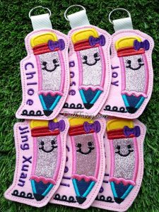 Embroidery Name Tags