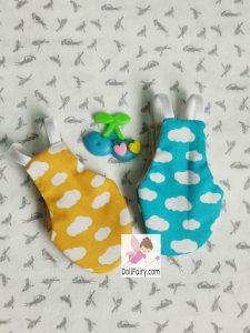 Lovebirds Flight Diaper Suit