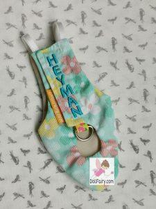 Yahman Adorable Snail Print Bird Diaper Flight Suit