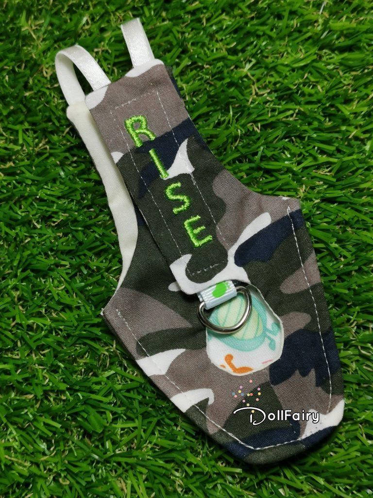 Army Camouflage Bird Diaper Flight Suit