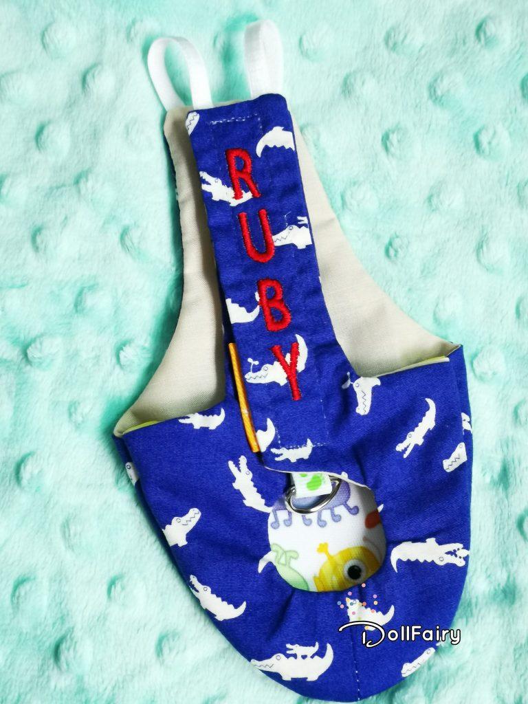 Galah Cockatoo Bird Diaper Flight Suit