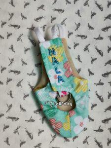 Nala Pineapple Green Cheek Conure Pastel Bird Diaper Flight Suit