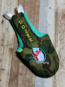 Dozer Cockatiel Camouflage Bird Diaper Flight Suit