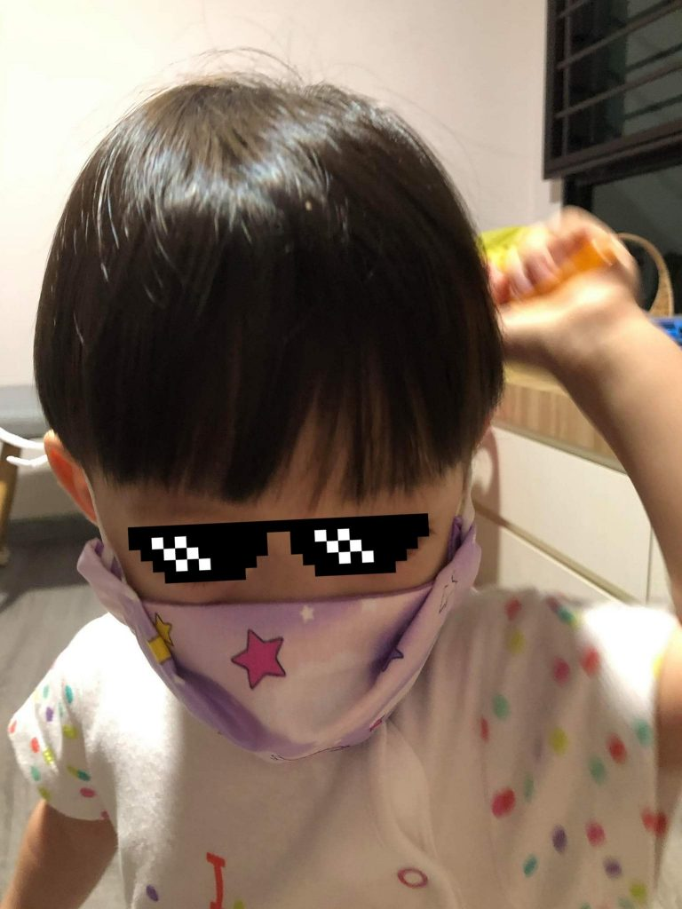 XS Face Mask For A 18-Month-Old