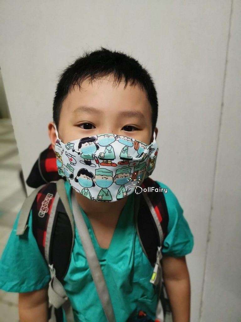 Kids Doctor Face Mask