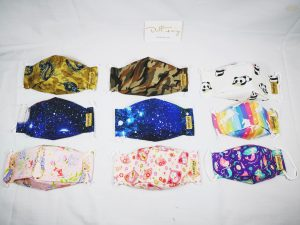 Reusable Washable Face Masks. Many Designs And Sizes.