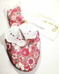 Pink Floral Bird Diaper Suit With Skirt For Cockatiel