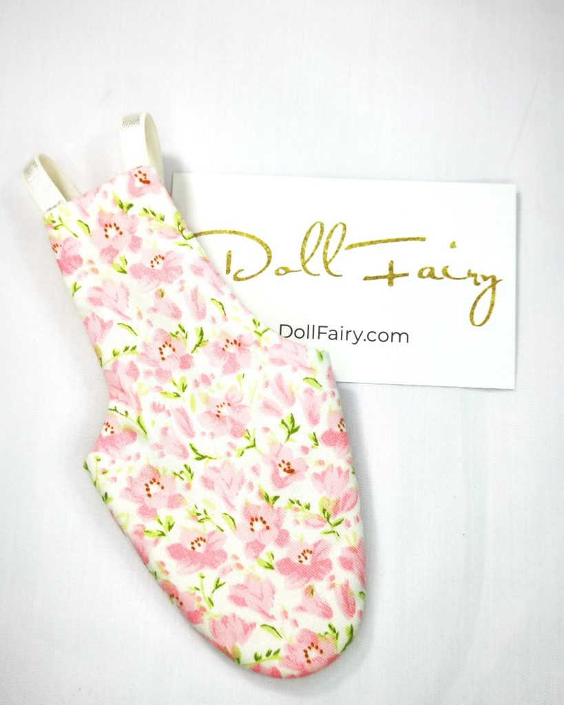 Pastel Pink Floral Bird Diaper